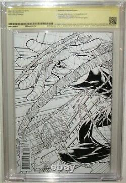 Cbcscgc Ss 9.8 Amazing Spider-man #700 Signé Stan Lee Quesada Sketch Variante