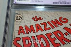 Cgc 5.0 Amazing Spider-man #1 1er App Chameleon & Jameson Stan Lee Ditko B1