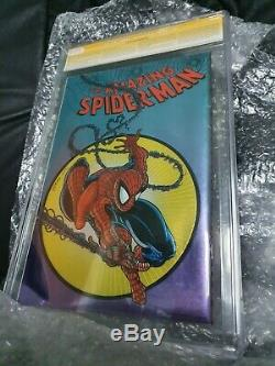 Cgc Ss 9,6 Amazing Spider-man # 300 Chrome Marvel Signé Par Stan Lee