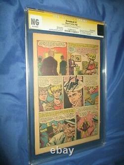 Daredevil #1 Cgc Pg Page Ss Signé Par Stan Leeorigin 1er Karen Page/foggy