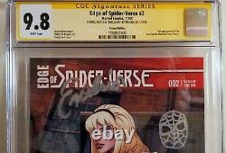 Edge Of Spider-verse #2 Land Variante Stan Lee Ss Cgc 9.8 Mint. Graal Pc