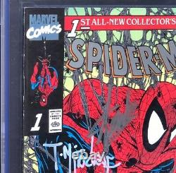 Édition Platinum N° 1 De Spider-man Cgc Ss 9.8 Signé Stan Lee + Mcfarlane 1990