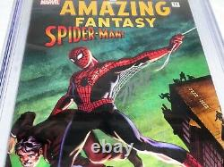 Fantasie Incroyable #15 Spider-man! #nn Cgc Ss Signature Autographe Stan Lee Af15
