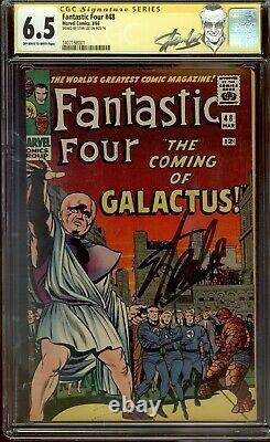 Fantastic Four 48 Cgc 6.5 Stan Lee Signature Series 1er Silver Surfer