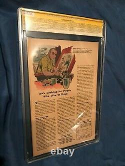 Incrédible Hulk #1 Cgc 5.0 Ss Signé/autographe Par Stan Lee 1ère Application Hulk 1962