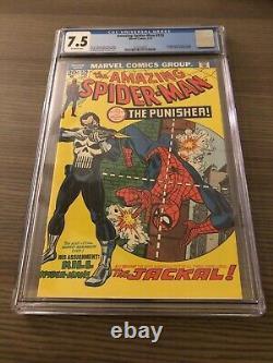 Incroyable Spider-man # 129 Cgc 7.5 Vf- 1ère Application Punisher Romita Kane Andru Stan Lee