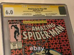 Incroyable Spider-man #300 Cgc Ss Signé X3 Par Stan Lee, Todd Mcfarlane+michelinie