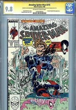 Incroyable Spider-man 315 Cgc 9.8 Ss X3 Stan Lee Michelinie Todd Mcfarlane Venom