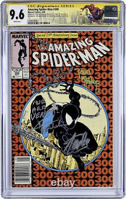Incroyable Spiderman #300 Cgc 9.6 Signé Par Stan Lee, Mcfarlane, Micheline