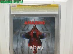 L'incroyable Spider-man 1 Marvel 2014 Cgc 9.4 1200 Opena Variant Stan Lee Signé