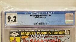 Lot Cgc 9.2 Amazing Spider-man 195 194 Ss Signé Par Stan Lee 1er & 2ème Black Cat