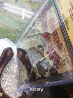 Man Spider Amazing 41 Cgc Ss 7.5 Stan Lee Auto 1er Rhino John Romita Art 1966