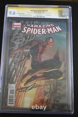 Marvel Amazing Spider-man # 1 Stan Lee & Neal Adams Signé