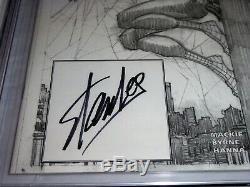Marvel Authentix Amazing Spider-man # 1 Cgc Ss 9.8 Signature Autograph Lee Stan