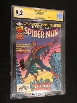 Marvel Tales #137 Spider-man Série Signée Stan Lee Cgc