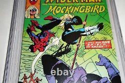 Marvel Team-up #95 Cgc Ss Signature Autographe Stan Lee 1er Mockingbird Nick Fury