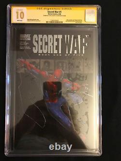 Secret War 1 Cgc 10 Gem Mint 04/04 Ss Stan Lee Only One In The World