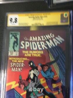 Signé Par Stan Lee Cgc 9.8 Ss 1st Black Suit Venom