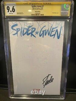 Spider Gwen 1 Cgc 9.6 Signé Par Stan Lee
