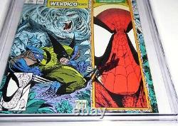 Spider-man #11 Cgc Ss 9.8 Signature Autographe Stan Lee Wolverine Wendigo Battle