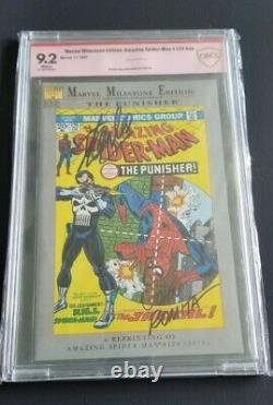Spider-man 129 Cbcs 9.2 Ss Signé Stan Lee John Romita (comme Cgc Pgx)