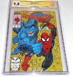Spider-man #15 Cgc Ss Signature Autographe Stan Lee 9.8 1er Masterblaster Comic