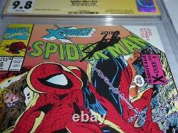 Spider-man #16 Cgc Ss 9.8 Signature Autographe Stan Lee Dernières Avenues Latérales Mcfarlane