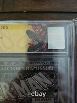 Spider-man #1 Cgc 9.8 Ss Signé Stan Lee Et Todd Mcfarlane Spiderman Label 1990