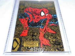 Spider-man # 1 Cgc Ss Signature Signature Autographe Stan Lee Gold Variante Edition 9.8 L @@ K
