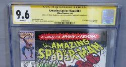Spider-man D'amélioration #361 Signé X3 Stan Lee, Carnage 1ère Application Cgc 9.6 Marvel 1992