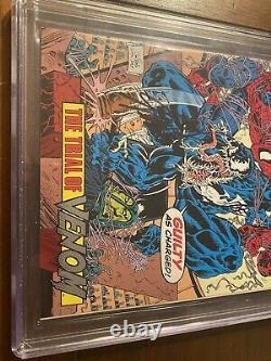 Spider-man Édition Spéciale #1 12/92 Cgc 9,6 Ss Stan Lee! Rare Livre Promotionnel Unicef