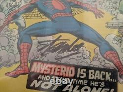 Stan Lee A Signé Amazing Spider-man #141 Cgc Graded 8.0 Marvel Février 1975