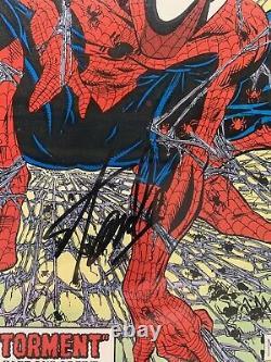Stan Lee Signé Spiderman Marvel Comic Book #1 Torment Series Cgc 9,6 Classé