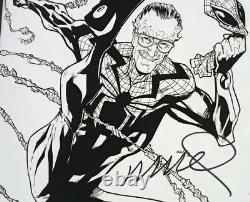 Superior Spider-man # 16 Cgc 9.8 Variante De Croquis Convention Stan Lee Signé Ramos
