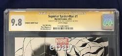 Superior Spider-man #1 Quesada 1200 Cgc Ss 9.8 Signé Par Stan Lee & Dan Slott