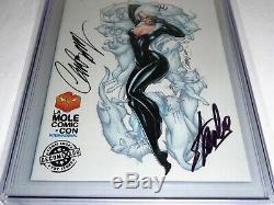Superior Spider-man # 29 Cgc Ss Double Signature Autograph Stan Lee Black Cat 9.8