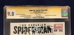 Superior Spider-man 29 La Mole Comiccon Variante Cgc 9.8 Signé-campbell Stan Lee
