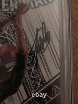 The Amazing Spider-man #1 Fan Expo Sketch Edition Cgc 9.8 Signé Par Stan Lee