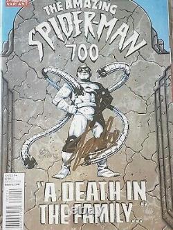 The Amazing Spider-man #700 Cgc 9.4 Ss Signé Par Le Légendaire Stan Lee