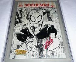 Ultimate Comics Spider-man #1 Cgc Ss 9.8 Signature Autographe Stan Lee Vip Comic