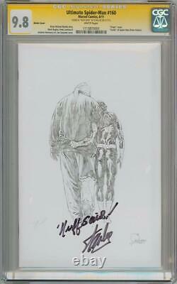Ultimate Spider-man #160 Variante Cgc 9.8 Série Signature Stan Lee Nuff Said