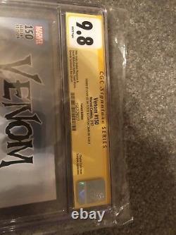 Venom # 150 Ss Cgc 9.8 1500 Ss 2x Clayton Crain Et Stan Lee Seulement Un Sur Ebay