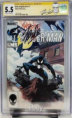 Web De Spider-man #1 (première Série De 1985) Cgc Signé Par Stan Lee