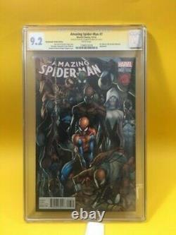 (signed) Stan Lee Autograph (cgc) Certifié Amazing Spider-man #4 9.2 Marvel